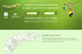gymmix lesson plan builder png