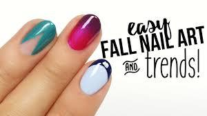 easy fall nail art u0026 trends youtube