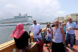 royal caribbean cancels cruise sends ship to help puerto rico