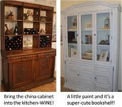 divine consign repurposing china cabinets crafty pinterest