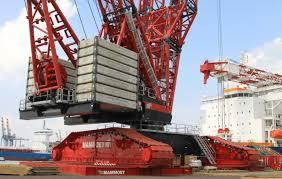 the newest liebherr lr 11000 crawler crane machines pinterest