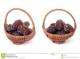 date basket basket of dates royalty free stock photography image 22220497