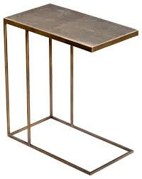 Brass Side Table Lovable Brass Side Table With Seymour Side Table Set Swoon
