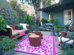 Make Your Own Outdoor Rug by Pink Decorating Ideas Pink Rooms Hgtv U0027s Decorating U0026 Design