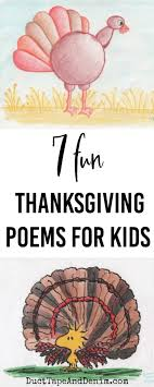 favorite thanksgiving poems for or at