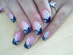 18 nail art flower designs videos step by step about diy nail art