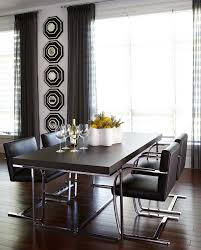 dining hall mirror dining room contemporary with window treatments
