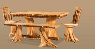 Log Dining Room Table by Lighting U0026 Design Store Boston Ma Featuring 12 Showrooms Home