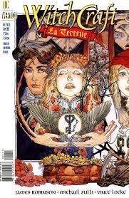 witchcraft la terreur 1 u2022 abril 1998 portada michael wm kaluta