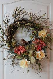 25 original fall twig wreaths with various elements digsdigs