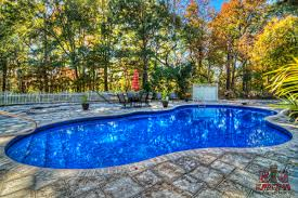 Deep Backyard Pool by Vinyl Liner Pool Myths