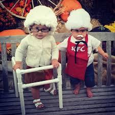 Grandma Grandpa Halloween Costumes 11 Babies Dressed Senior Citizens Growing Adorable