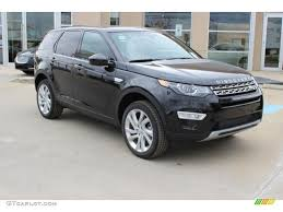 land rover discovery black 2016 2016 santorini black metallic land rover discovery sport hse