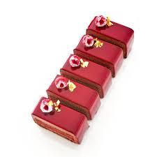 croustillant à la noisette biscuit chocolat confit framboise
