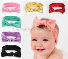 headband online 2018 knot baby headbands for ear cotton headband children