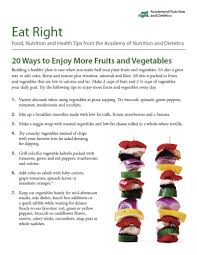 fruits and vegetables rebel dietitian