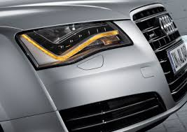 audi headlights in dark audi a8 led headlight output hidplanet the official