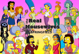 the simpsons real housewives of springfield crazy cat ladythe simpsons tapped
