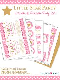 twinkle twinkle decorations twinkle twinkle party printable birthday party