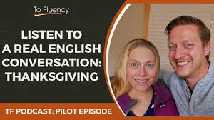 real thanksgiving history learn english podcast real english conversation talking about