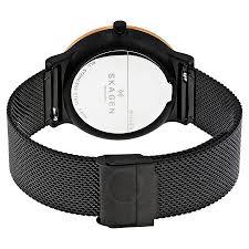 black mesh bracelet images Skagen ancher black dial mesh men 39 s watch skw6296 ancher jpg