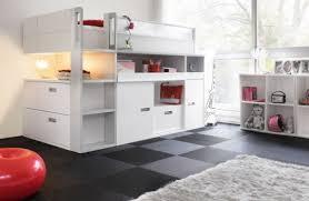 chambre gautier gautier dimix lit enfant avec de nombreux rangements intégrés