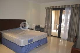 no commission ff 1 bed apartment in porto arabia pool side view