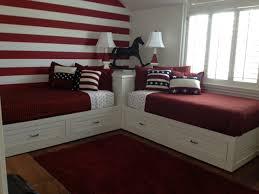 Twin Beds For Kids by 2 Corner Beds Custom Wood Furniture Orange County Custom Wood