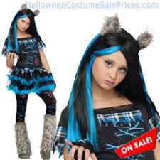 Wolf Halloween Costume Girls Child Wicked Wolf Costume Girls Halloween Costume Sale