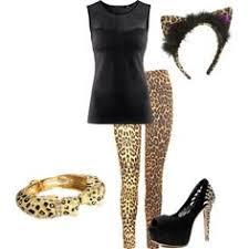 Halloween Cheetah Costumes Diy Cheetah Costume Diy Cheetah Costume Polyvore Diy