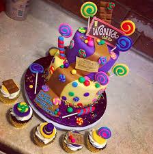 amazing birthday cakes this scrumdiddlyumptious willy wonka the chocolate factory cake
