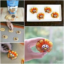 thanksgiving turkey pretzel treats kitchen with my 3 sons