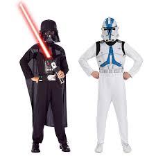 buy star wars clone trooper u0026 darth vader costume set