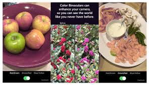 What It Looks Like To Be Color Blind Color Binoculars A New Mobile App From Microsoft Garage Helps