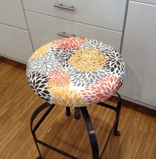 Bar Stool Replacement Seats Bar Stools Padded Round Bar Stool Covers Stool Seat Cushions