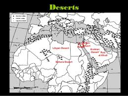 middle east map ppt middle east physical features geography powerpoint