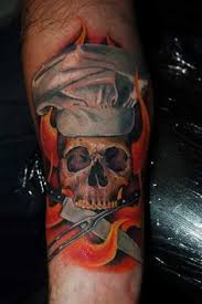 22 best chef ideas images on pinterest chef tattoo skull