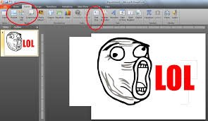 Personalized Memes - how to create personalized memes using microsoft powerpoint 2010