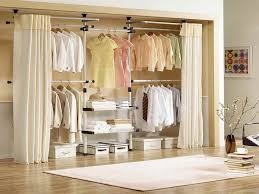 Curtains As Closet Doors Create A New Look For Your Room With These Closet Door Ideas