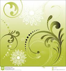 Foliage Flower - foliage with flower shapes royalty free stock photography image