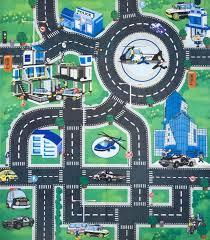 Car Play Rugs City Street Play Rug City Road Play Rug Street Play Rug Street