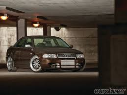 audi a4 modified 2000 audi a4 brown royal eurotuner magazine