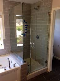 Pacific Shower Doors 3 8 Frameless Glass Shower Enclosure Patriot Glass And Mirror