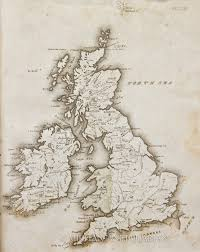 Map Of Scotland And England by Map Of England Scotland And Ireland 1822