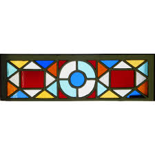 antique stained glass transom window sold antique stained glass