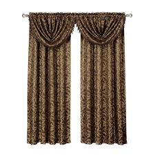 Valances Window Treatments by Red Window Scarves U0026 Valances Window Treatments The Home Depot