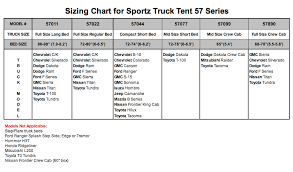 Ford Ranger Bed Dimensions Steve U0027s Sportz Above Ground Sports Truck Tent 57 Series Above