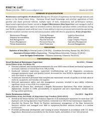 professionally written resume samples rwd logistics executive