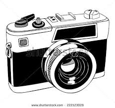 vintage camera outlines download free vector art stock graphics