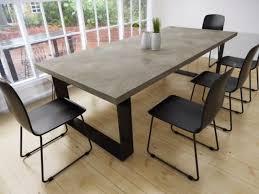 diy concrete table top concrete dining table conception lyon beton alps beut co uk 13